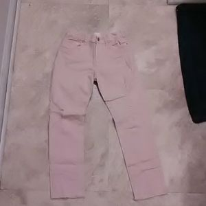 Light pink Children's Place ripped jeans
